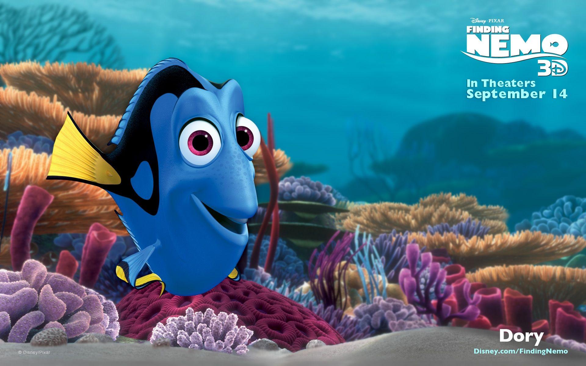 Finding Nemo Finding Nemo 3d 5 Wallpaper Disney Characters