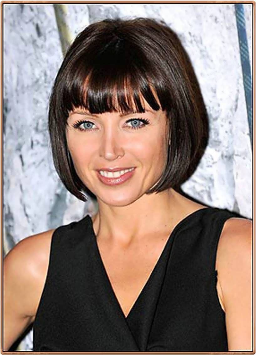 Easy Bob Hairstyles Prepossessing Easy Bob Hairstyles With Bangs  Hairstyle For  Hairstyles