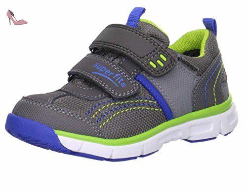 Superfit Sport4, Sneakers Basses Fille - Bleu (Moonlight Kombi 91), 35 EU