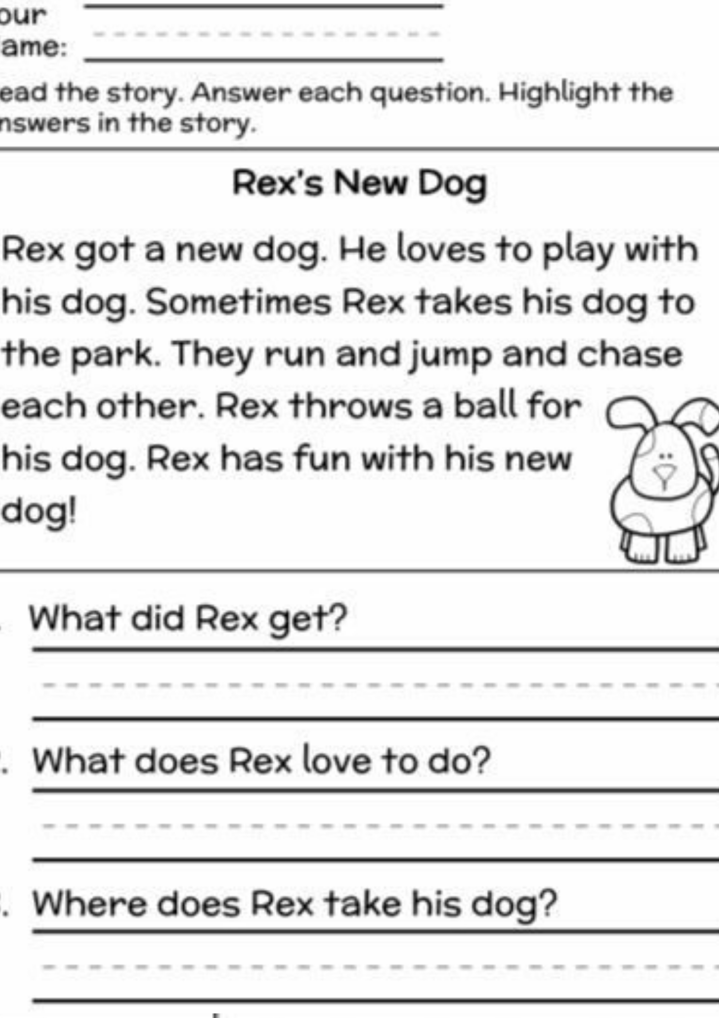 Free Printables For Teaching Preschoolers Literacy First Grade Reading Comprehension 1st Grade Reading Worksheets 2nd Grade Reading Comprehension
