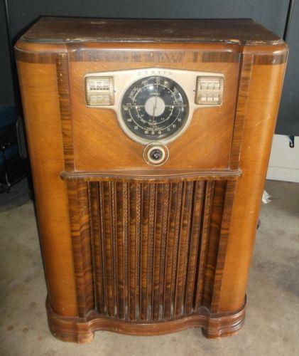 1940 Ge Console Radio Radio History Short Waves Console Waves