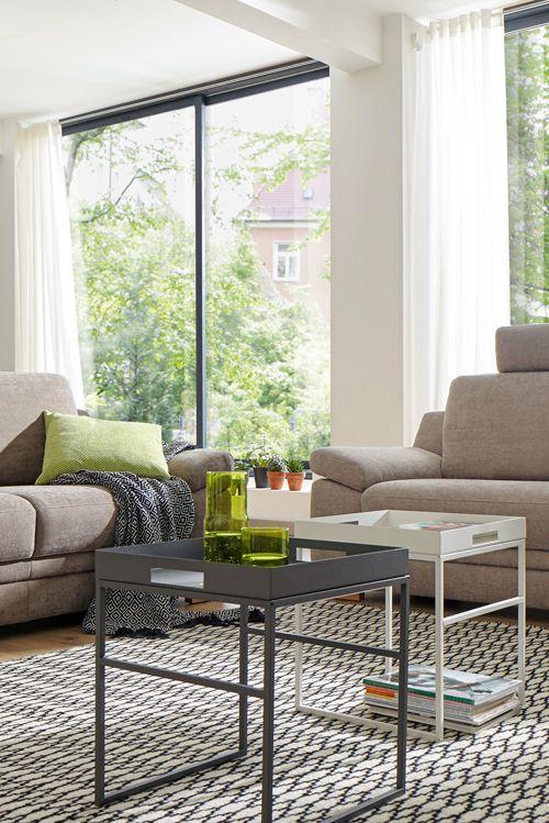 Das Sofa Global Tavira wird mit seinen vielfältigen Funktionen zur - wohnzimmer couch gemutlich