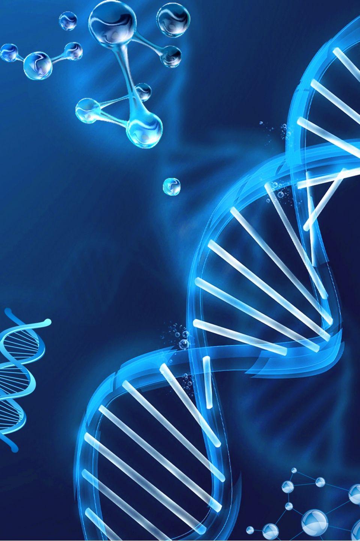Medical Blue Chromosome Poster Background Background Poster Background Design Background Images