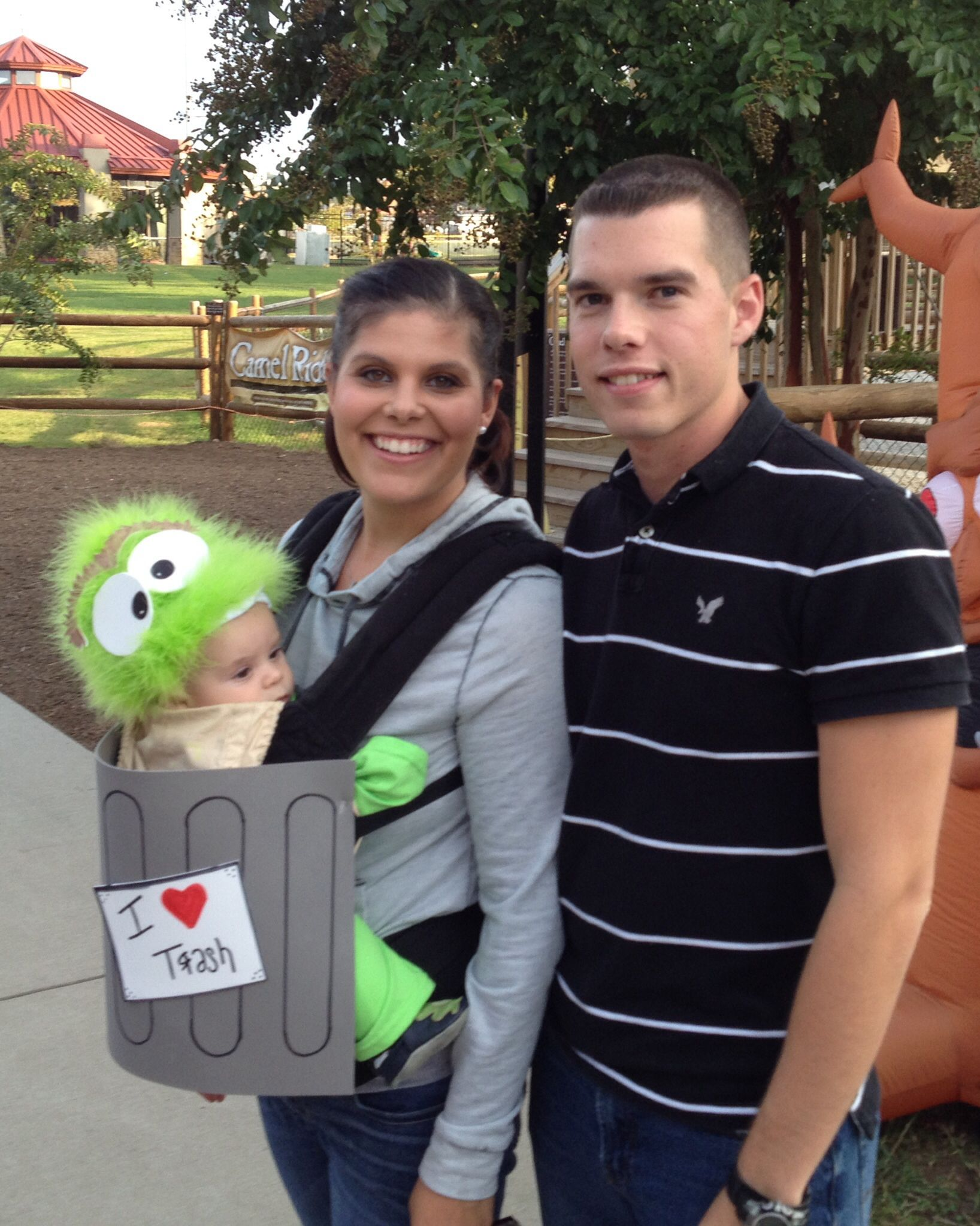 Oscar The Grouch Babywearing Costume Pinned For Kidfolio
