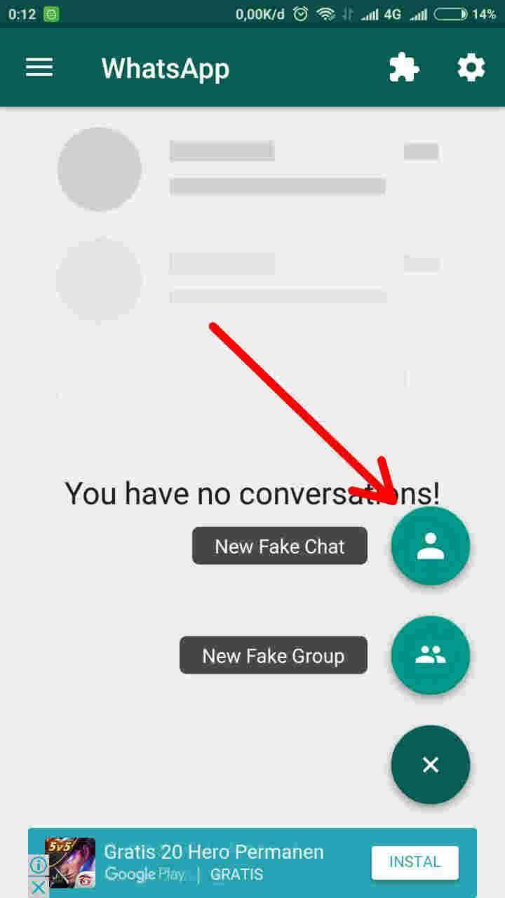 Cara Membuat Chat Palsu Whatsapp Untuk Seru Seruan Androbuntu Artis Pengikut Presiden