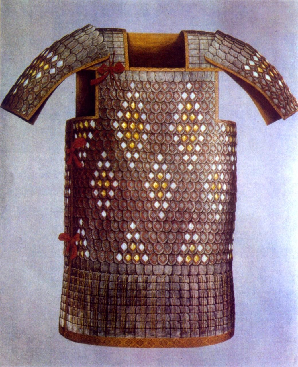A Suit Of Ornate Western Han Dynasty Xi Kai Or Small