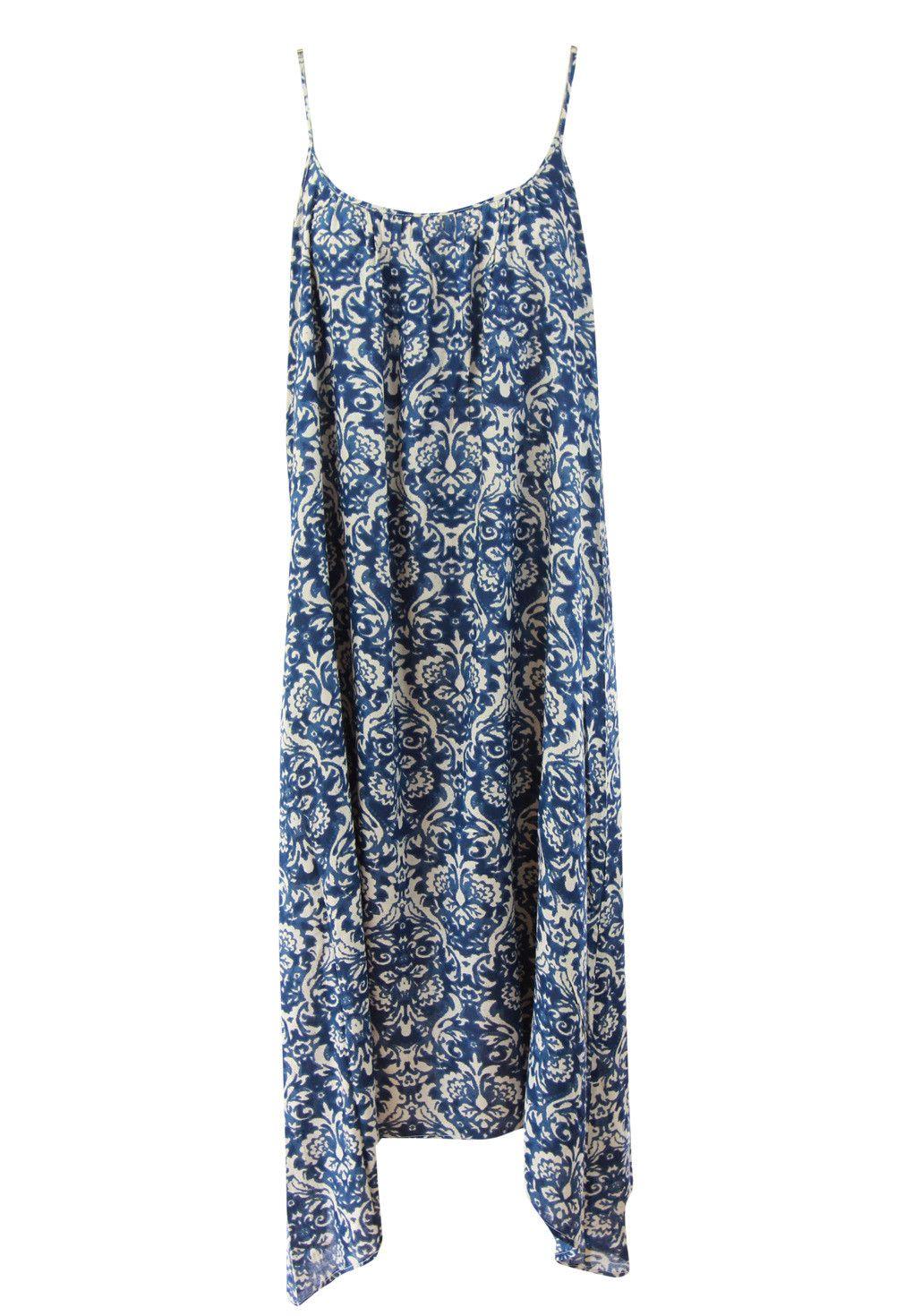 Ellis & Dewey - - Beach Print Dress