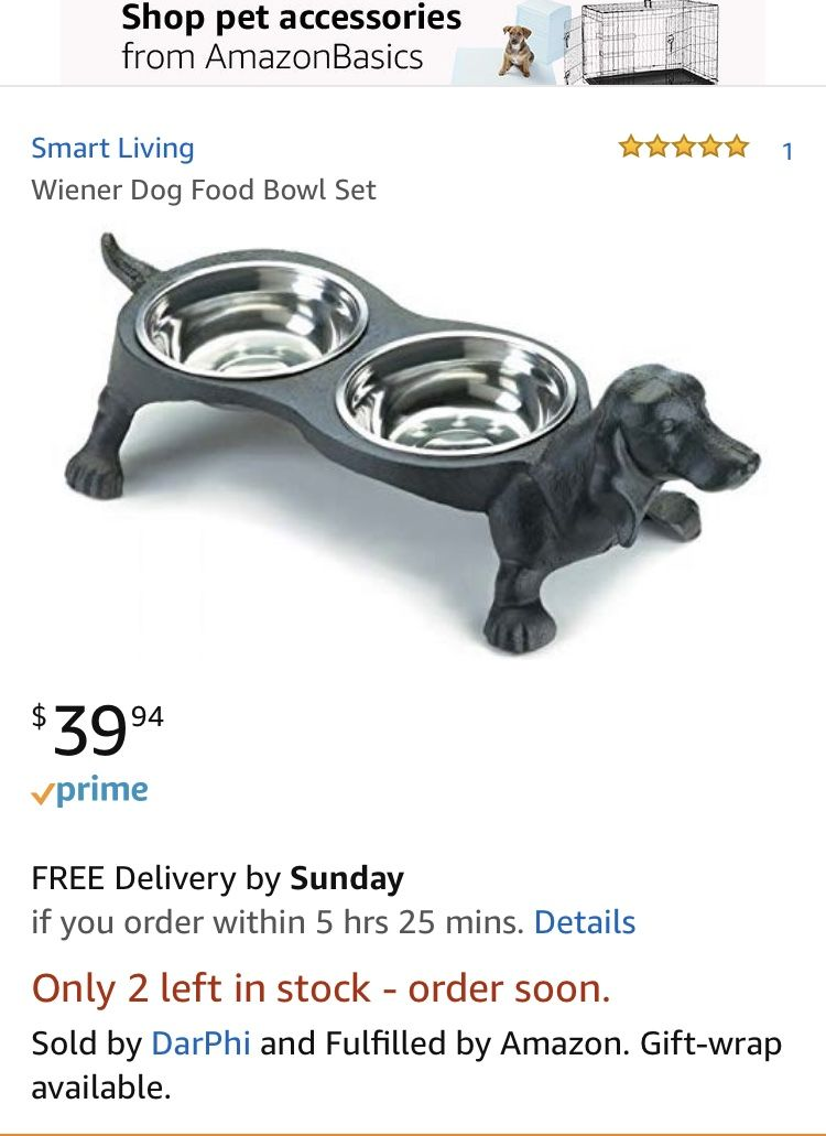 Look What I Found While Browsing Amazon Com Pet Accessories Dog Food Bowls Things To Sell