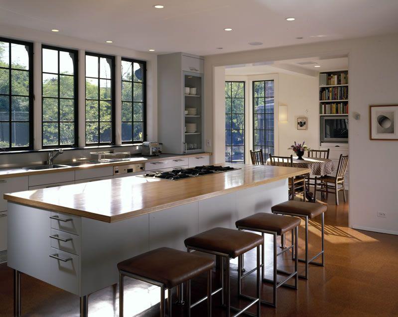 Kitchen Cabinets Above Windows kitchen: no upper cabinets above counter. windows above counter