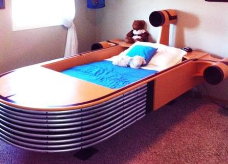 Puts The Race Car Bed To Shame!