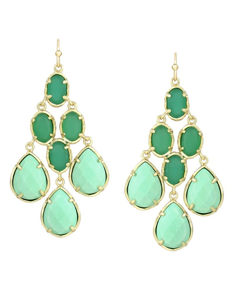 Amelia chandelier earrings in green fern kendra scott jewelry amelia chandelier earrings in green fern kendra scott jewelry arubaitofo Images