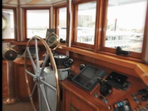 John Wayne Converted A War Ship Into A Yacht Named Wild