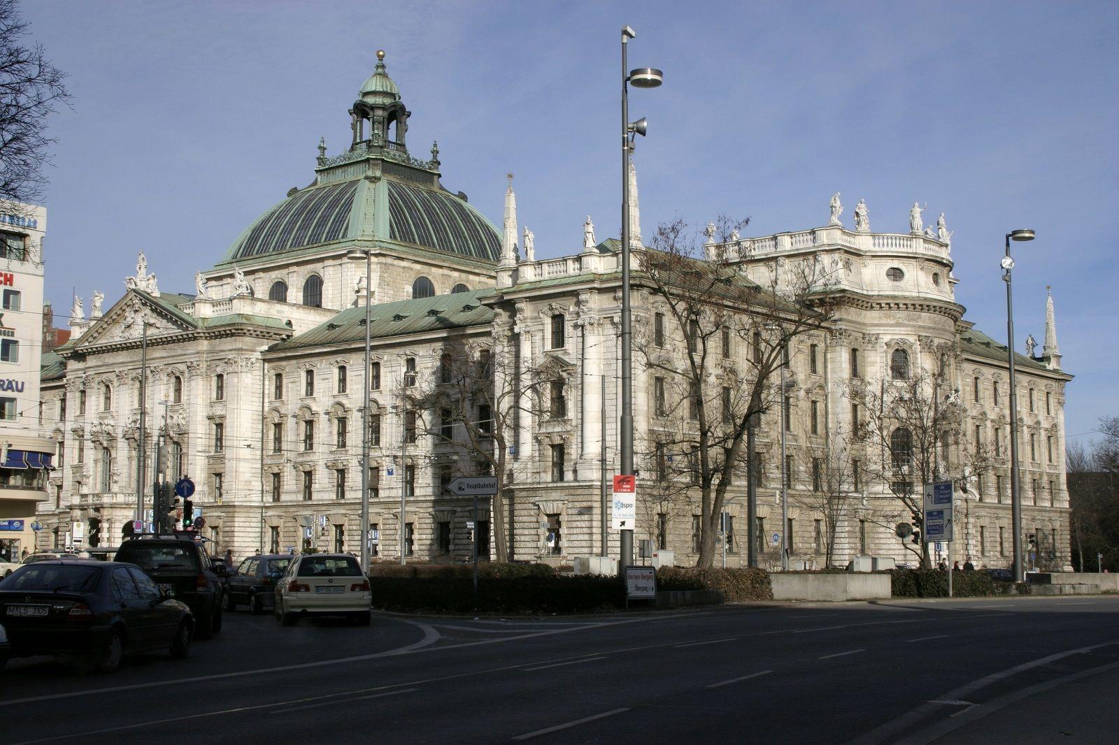 Munich Germany Palace Of Justice Germany Palaces Palace Tour Germany