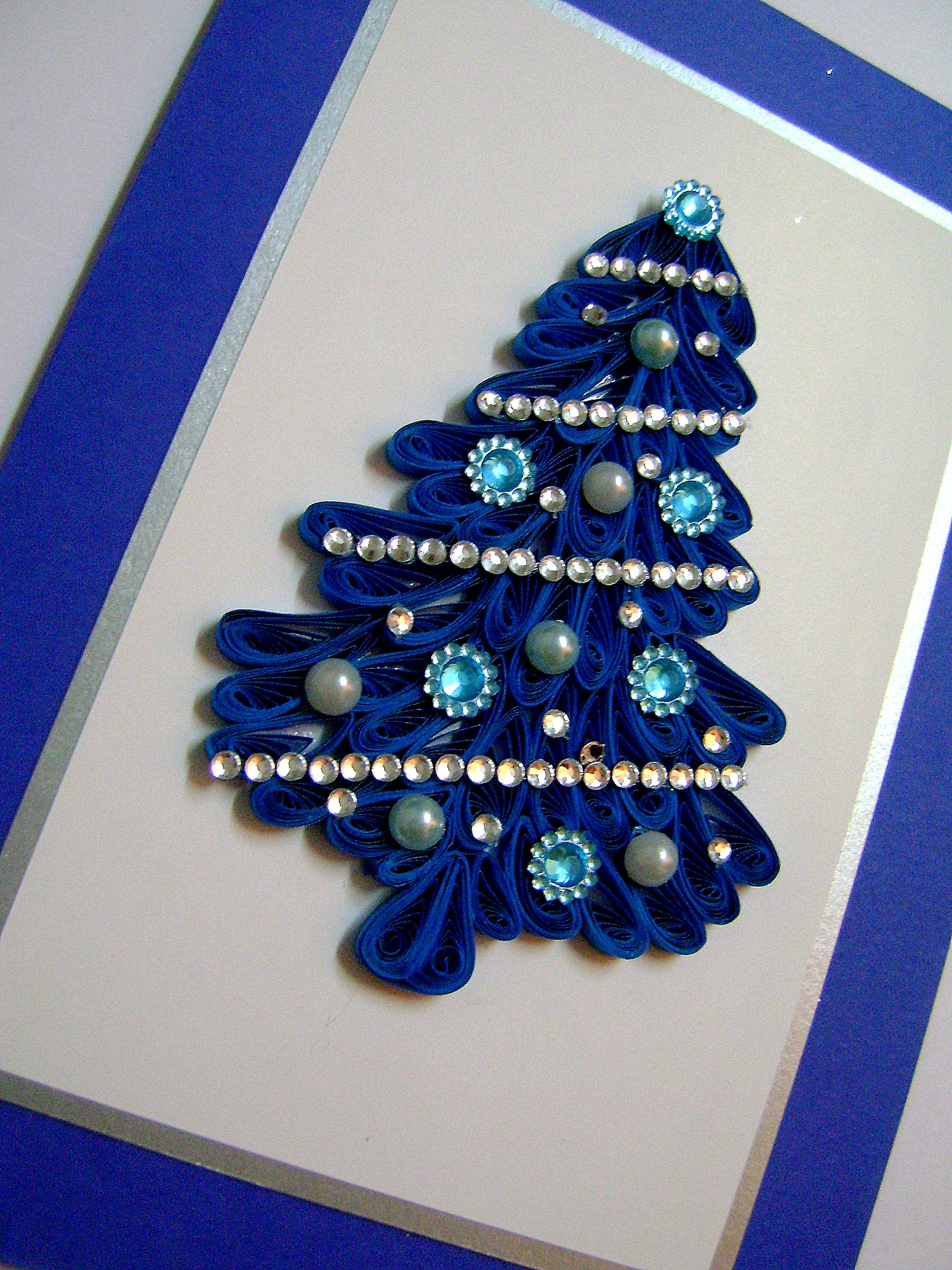 Quilled Christmas Tree Quilling Christmas Quilling Designs Quilling Paper Craft