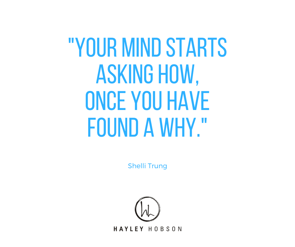 Your why is your motivator and no amount of money can replace that!  What is your why? Why do you do what you do?  XO Hayley  #momtrepreneur #DesignYourLife www.hayleyhobson.com