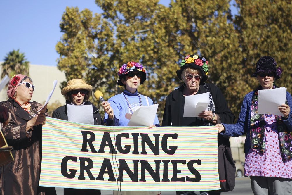 The Radical Raging Grannies Of San Jose The Toast Rage Social Activities Role Models