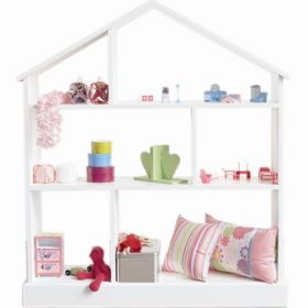 Doll S House Shelf Bookcase Moochie Moo Baby Toys Gifts