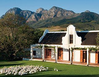 남아공 남쪽 케이프타운 근교의 호텔