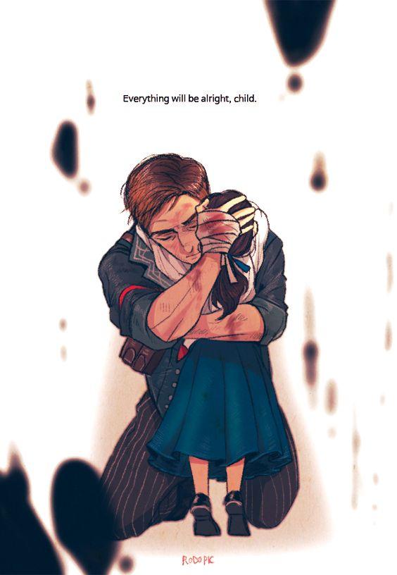BOOKER AND ANNA! My heart ;^; | Bioshock Infinite |