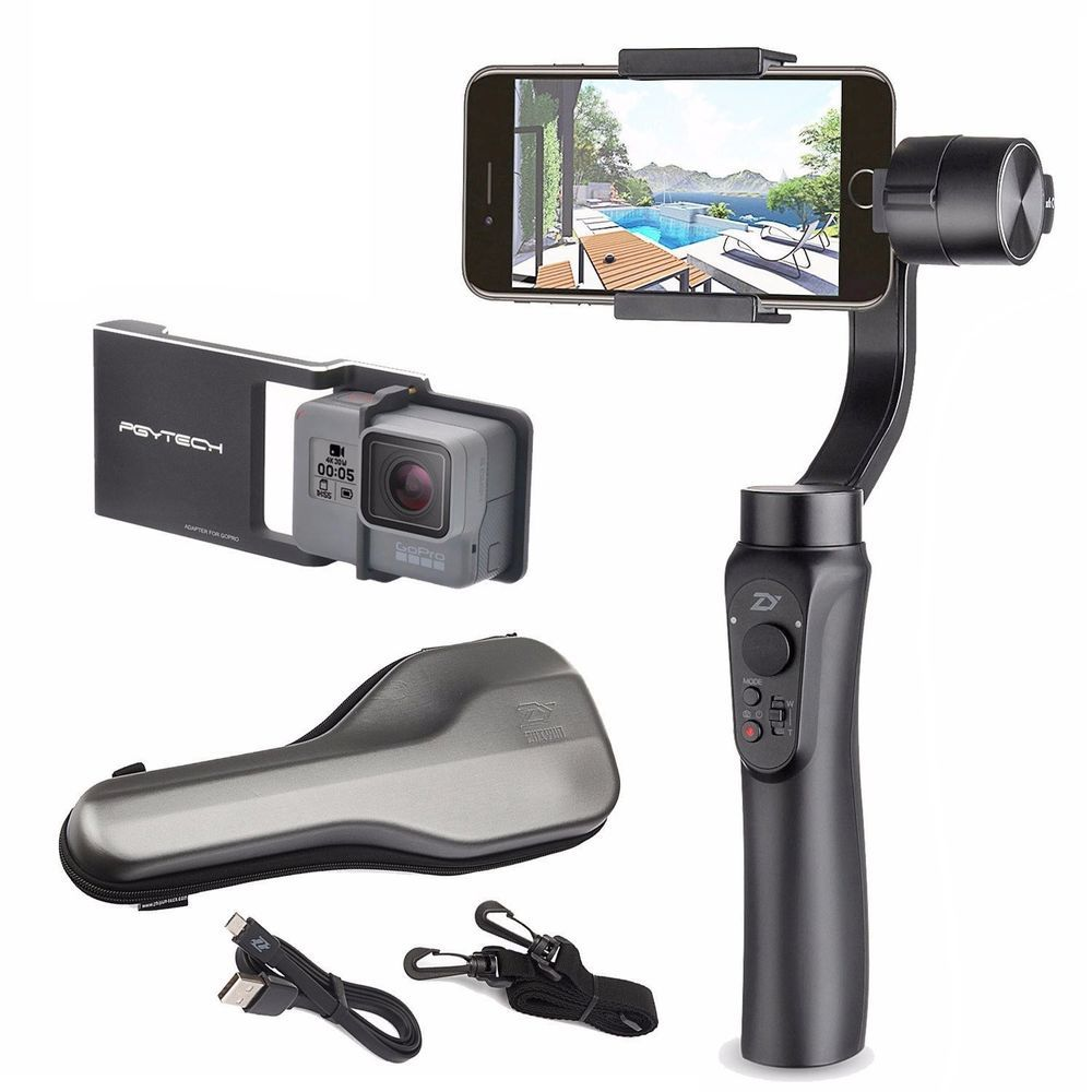online store c21ce b9c12 Details about Zhiyun Smooth-Q 3-Axis Handheld Gimbal Stabilizer for ...