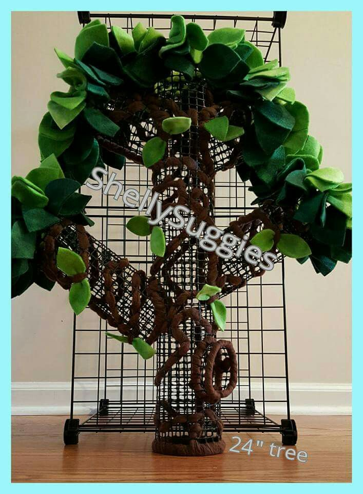 Homemade trees for Sugar Gliders Cage