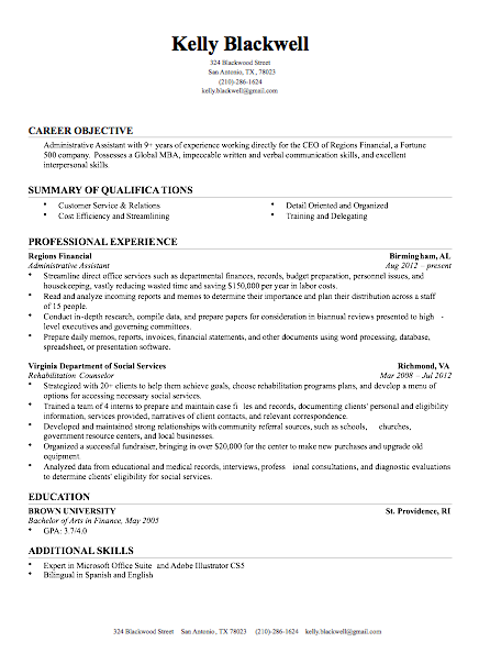 Free Sample Resumes Chicago  Curriculum Vitae  Pinterest  Free Resume Builder