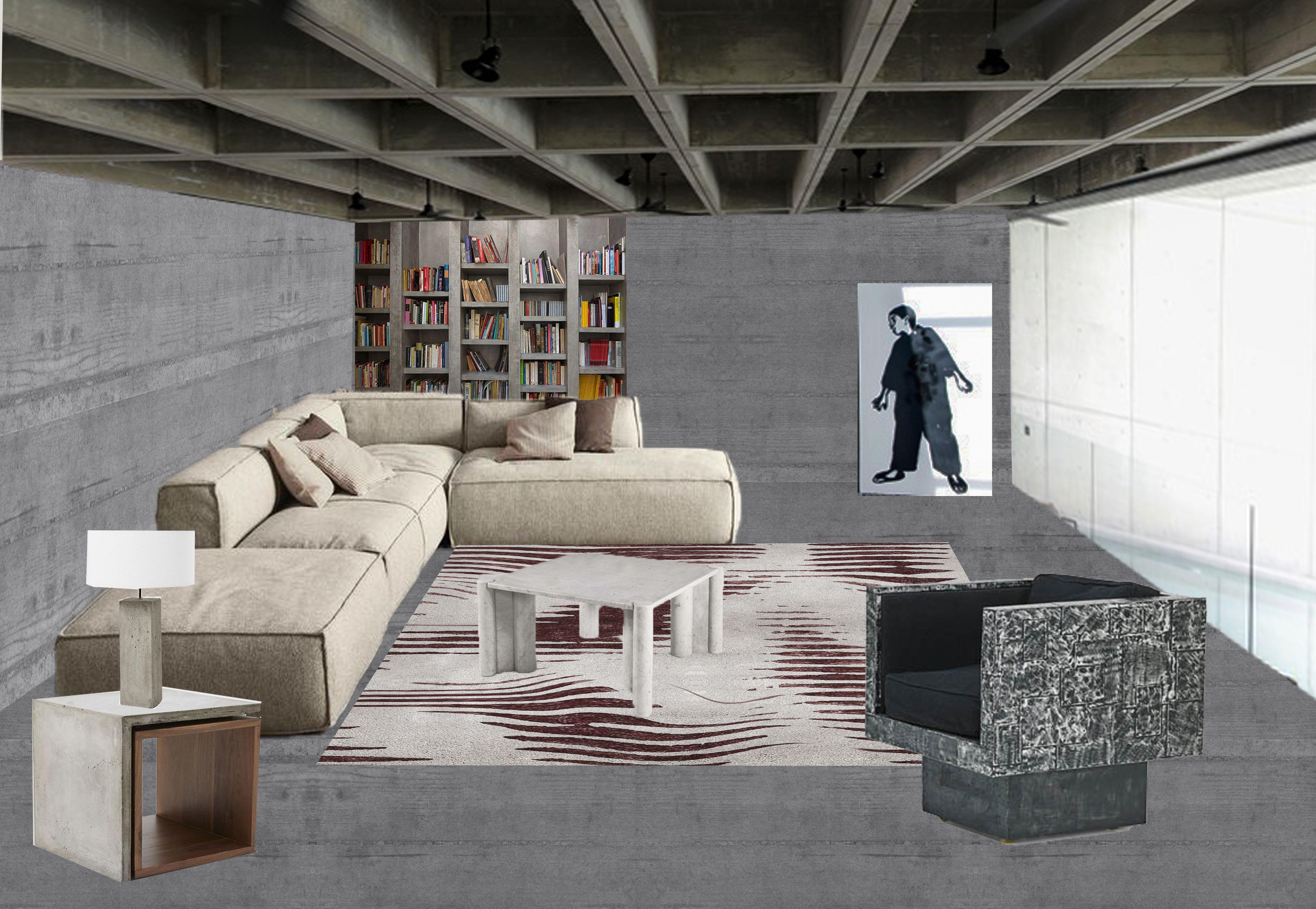 необработанный бетон