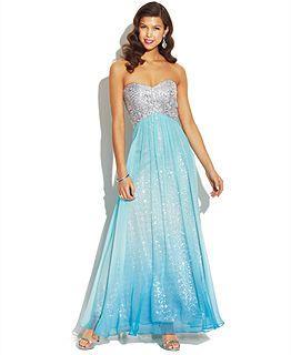 Prom Dresses at Macy's - Junior Prom Dresses - Macy's | Dream Prom ...