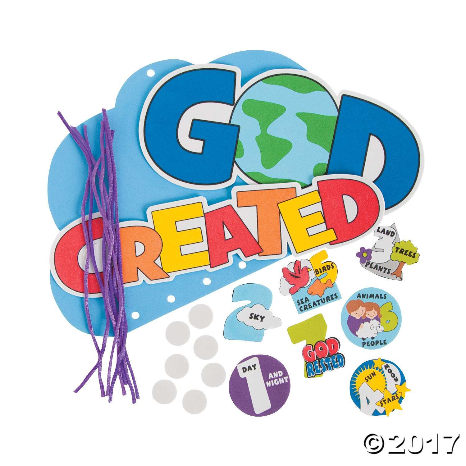 7 Days Of Creation Mobile Craft Kit