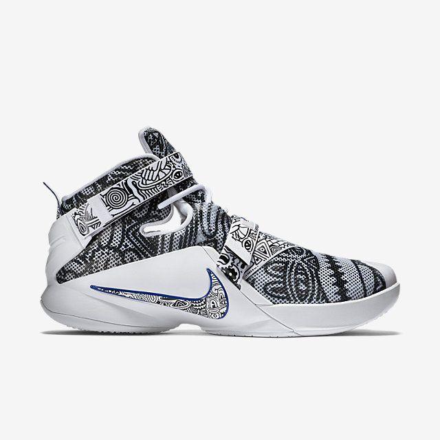 Nike Zoom LeBron Soldier 9 LE Men\u0027s Basketball Shoe. Nike.com