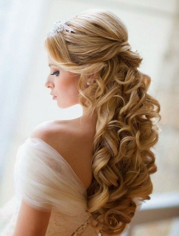 A Quixotic Low Chignon Long Curly Wedding Hair Styles1 600x792 Jpg 600 792