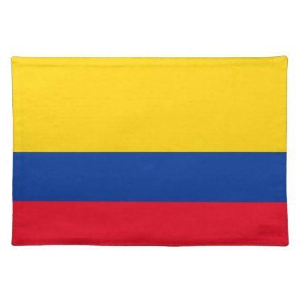 Colombia Cloth Placemat | Zazzle.com | Placemats, Kitchen ...
