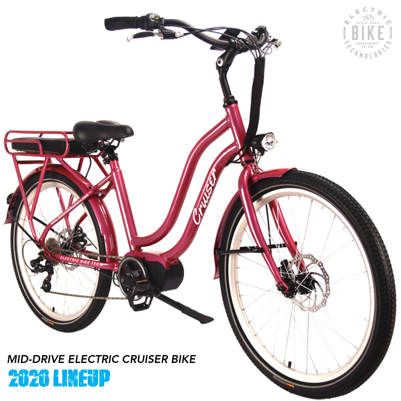 The Mid Drive Electric Cruiser Bike Is Your Stylish Ride For The