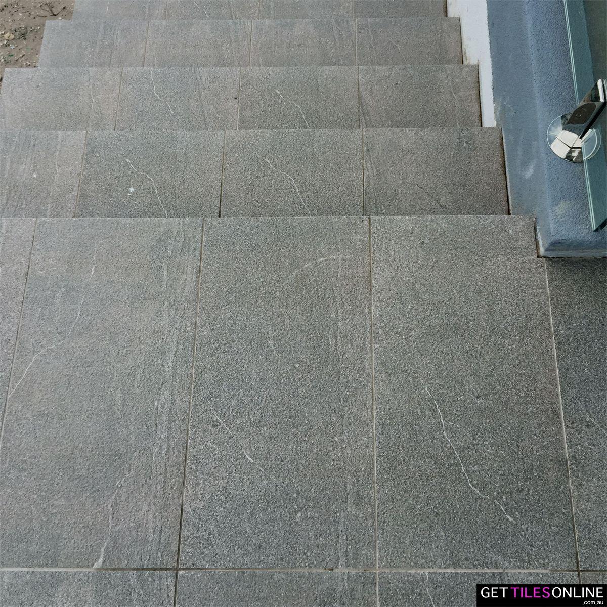 Buy Cheap Outdoor Tile - Nature Vein Charcoal 300x600 | Get Tiles ...
