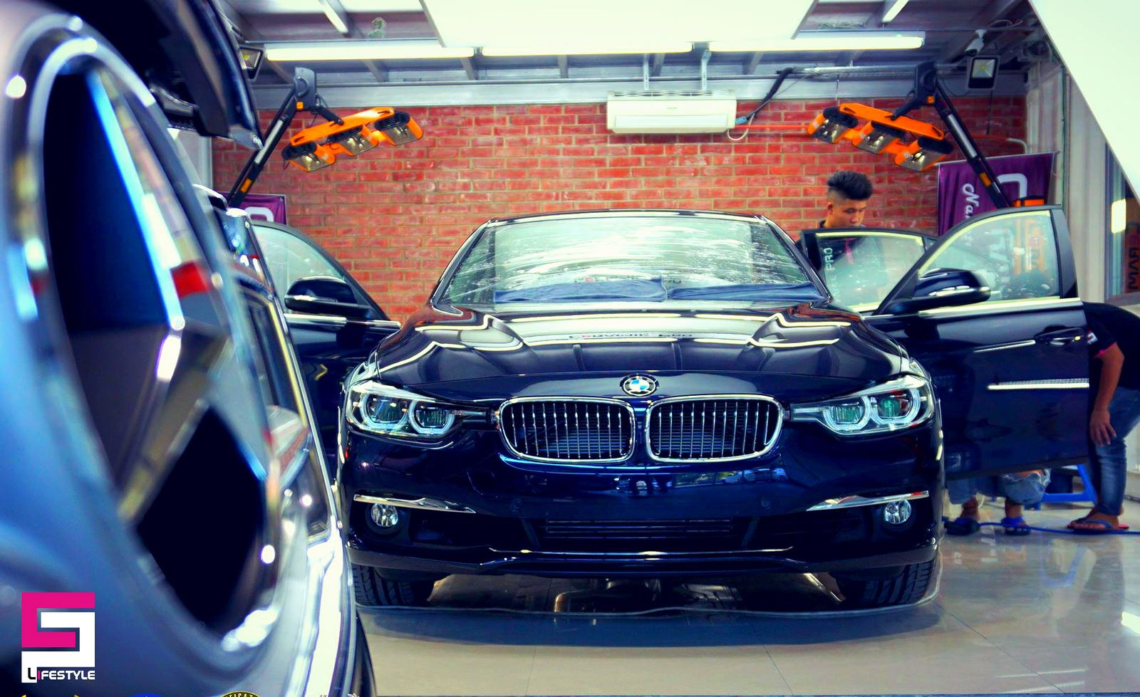 Brand New Bmw F30 Is Preparing For Application Of Ceramic Pro By Ceramic Pro Miri Bmw Paint Protection Brand
