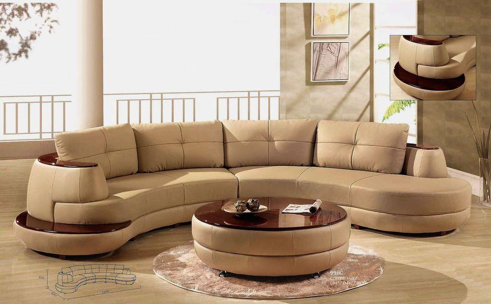 Italian Leather Sectional 2 Pc Set Modern Cappuccino Sofa Living Room Furniture Globalfurniture Modern Elegantes Wohnzimmer Leder Wohnzimmer Wohnzimmer Sofa