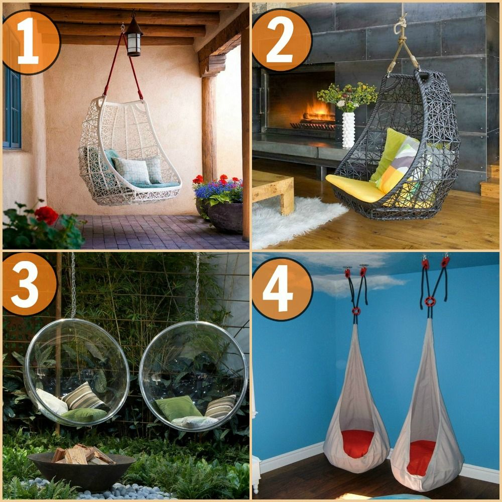 Swings Swinging chair, Outdoor living, Home decor
