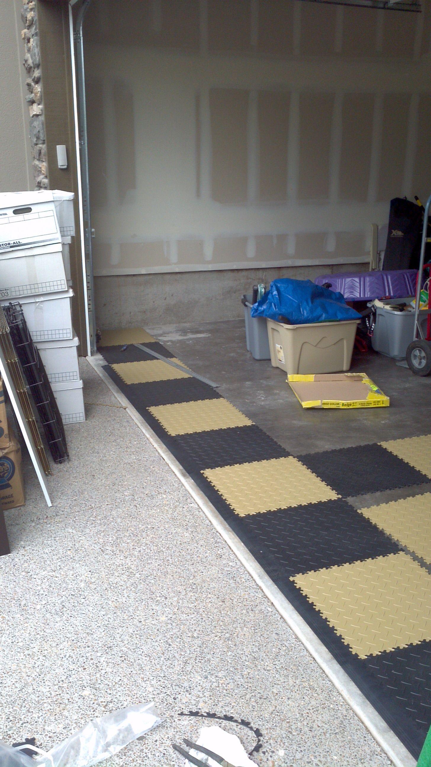 Wunderschön Flexi Tile Das Beste Von Flexi-tile Installation For Garage Themes Client.