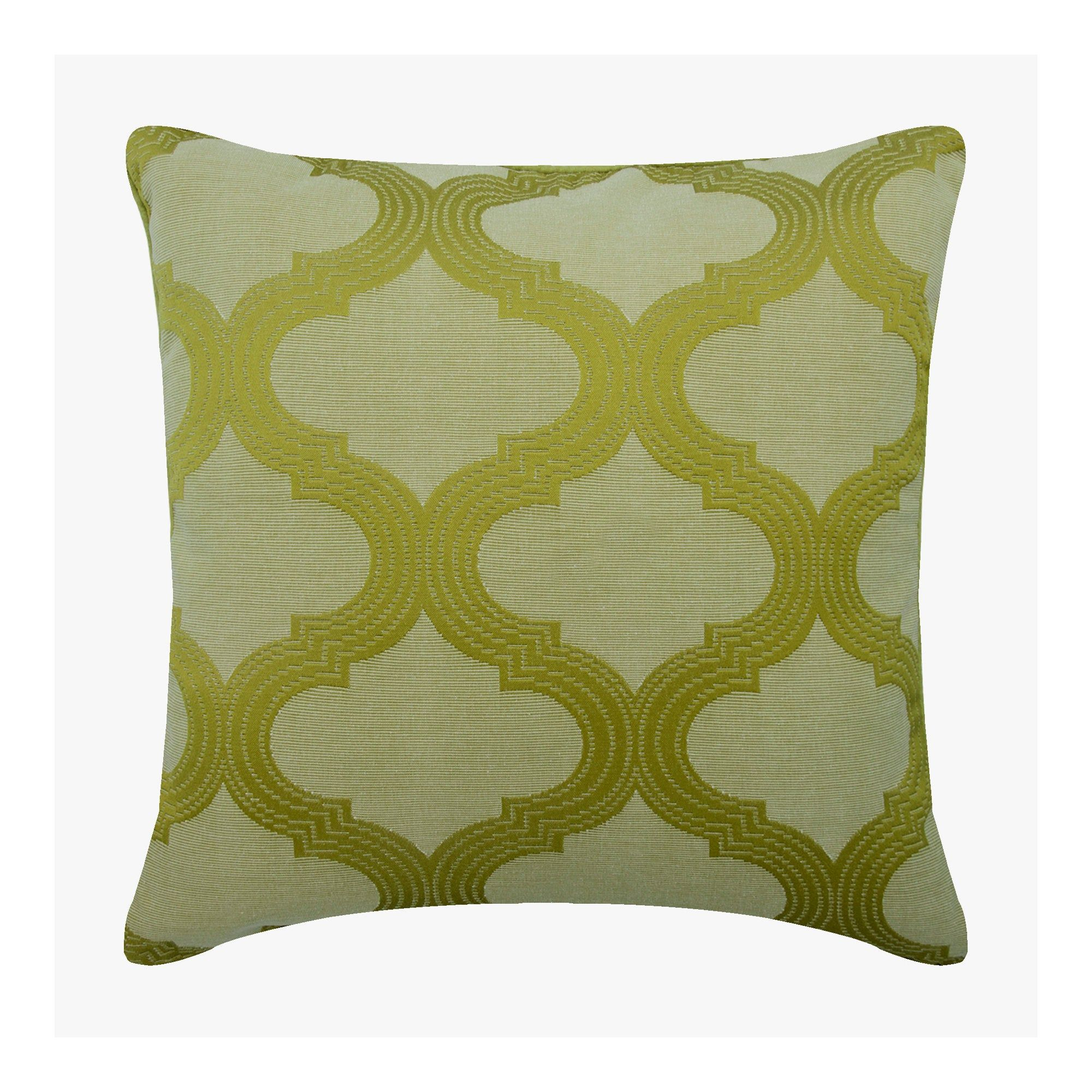 Silk Green Throw Pillow Cover 16 X16 Designer Couch Throw Pillow Case Geometric Pattern Modern Style Home Decor Cushion Trellis Weave With Images Green Throw Pillows Pillows Green Cushions