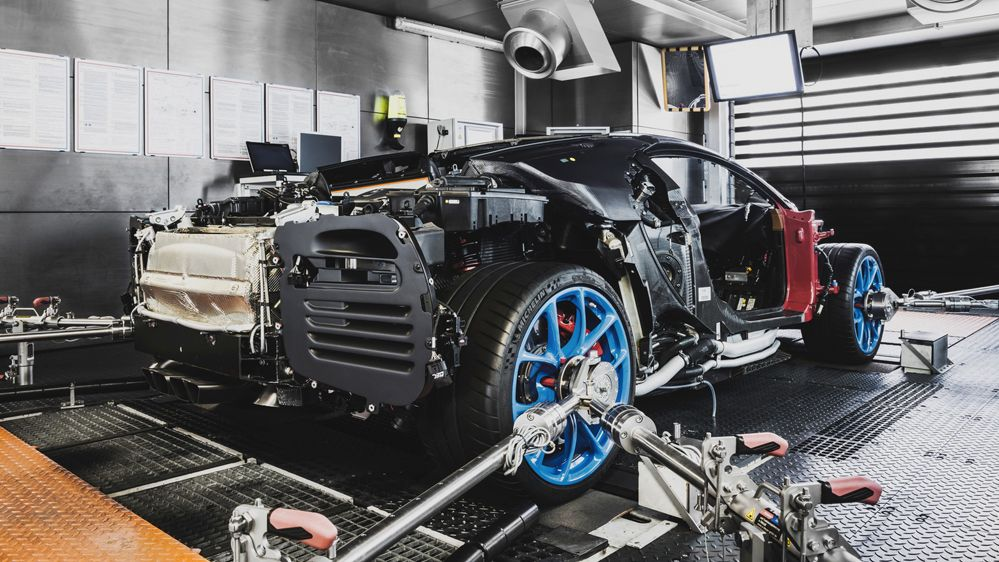 De la commande d'une Bugatti Chiron à la livraison, il s'écoule environ neuf mois. Mais le niveau de personnalisation peut faire varier...