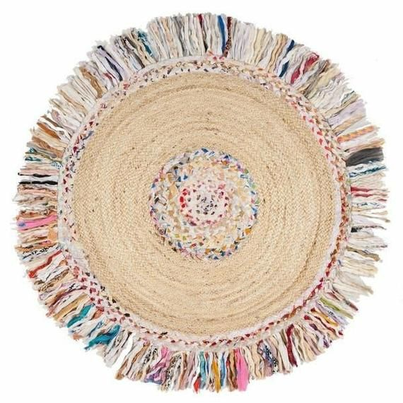 Indian Handmade Hand Braided Bohemian Cotton and J