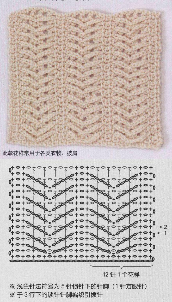 Крючок - Узоры - Плотные | Puntadas, Puntos crochet y Bebé
