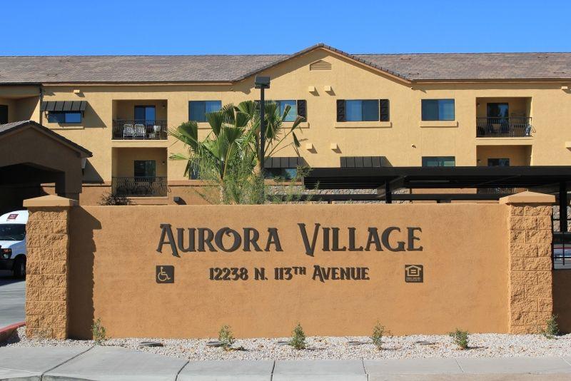 Aurora Village Apartment Communities Senior Living 2 Bedroom Floor Plans