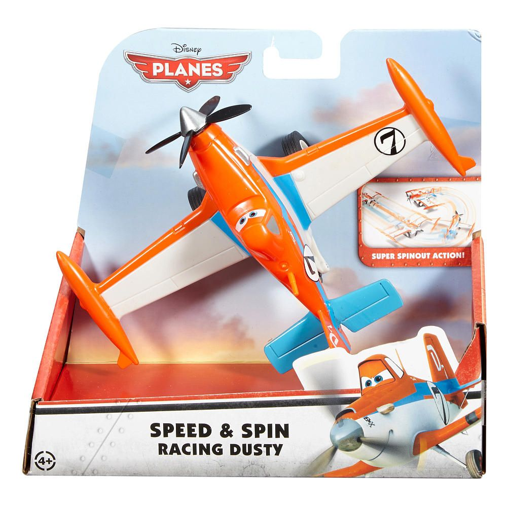 New From Disney Planes Comes A Speedy Dusty Crophopper Vehicle