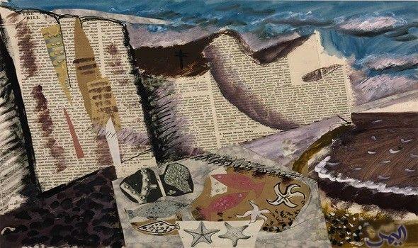 متحف تيت ليفربول يكشف عن إعادة إحياء السيريالية المصرية John Piper Artist John Piper Piper