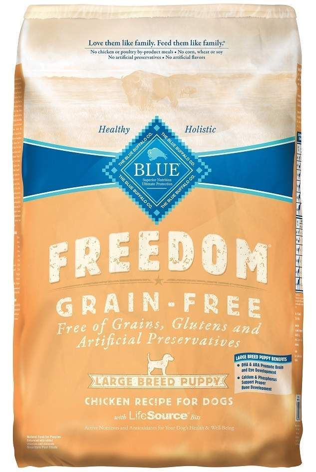Blue Buffalo Freedom Large Breed Puppy Chicken Recipe Dry Dog Food