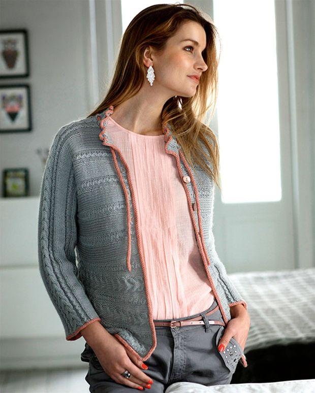 Strik selv: Trøje strikket på tværs - Hendes Verden