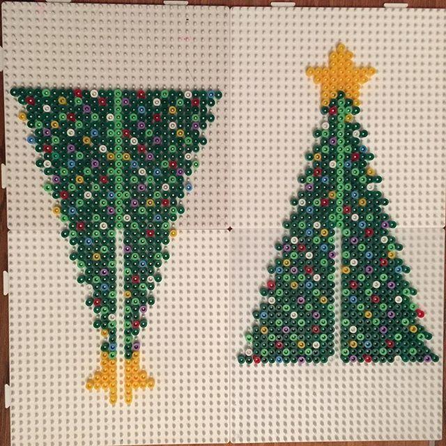 3d Christmas Tree Pattern: 3D Christmas Tree Hama Beads By Jritaalm
