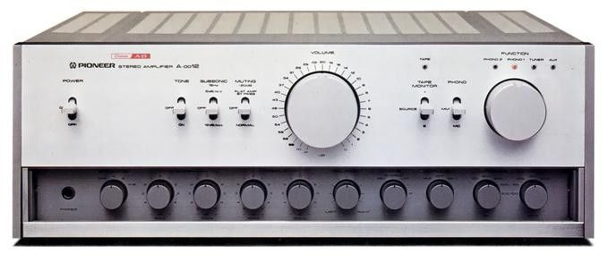 Pioneer A-0012 (around 1979)