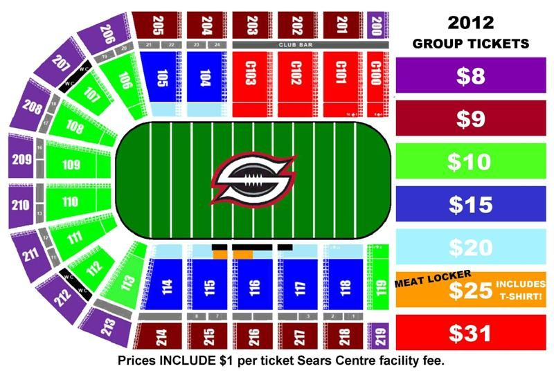 Chicago Slaughter Group Ticket Pricing And Seating Chart At The Sears Centre Arena Chicago Ticket Slaughter